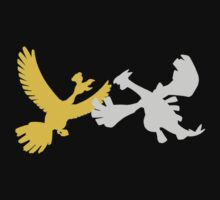 Pokemon - Ho Oh and Lugia Tee T-Shirt