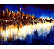 Cityglow Photographic Print