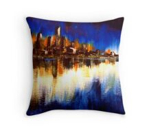 Cityglow Throw Pillow