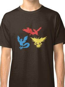 Pokemon Legendary Birds Tee Classic T-Shirt
