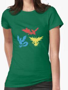 Pokemon Legendary Birds Tee Womens Fitted T-Shirt
