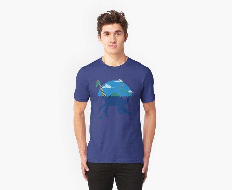 "Loch""Ness"" - Medium Blue by drawsgood"