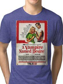 True Blood - A Vampire Named Desire Tri-blend T-Shirt