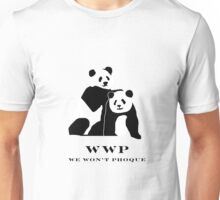Buy a shirt and not save a Panda. Unisex T-Shirt