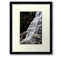 Bear Creek Falls # 1 Framed Print