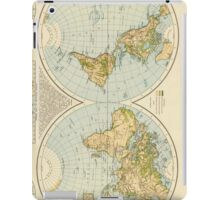 Vintage Map of The World (1895) iPad Case/Skin