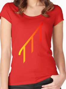 Rail Red Women's Fitted Scoop T-Shirt
