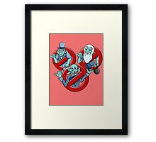 I Ain't Afraid Of No Ghosts Framed Print