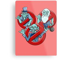 I Ain't Afraid Of No Ghosts Metal Print