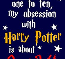 Harry Potter Obsession - 9 3/4 out of 10 by slitheenplanet