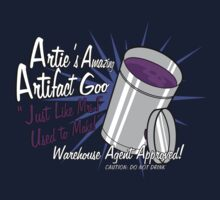 Artie's Amazing Artifact Goo by comickergirl