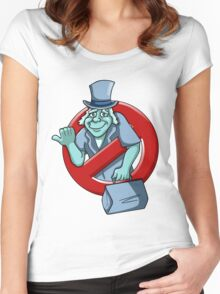I Ain't Afraid Of No Ghosts - Phineas Women's Fitted Scoop T-Shirt