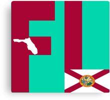 FL= Florida State Canvas Print