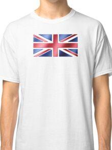 British Flag - UK - Metallic Classic T-Shirt