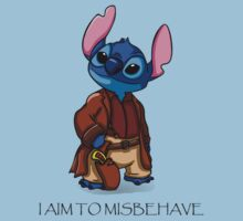 I Aim To Misbehave Kids Clothes