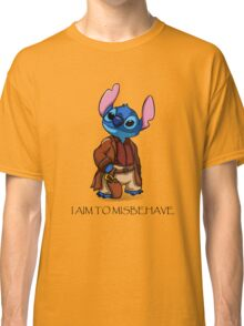 I Aim To Misbehave Classic T-Shirt