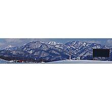 Panorama from Olympic Ski Jump Photographic Print