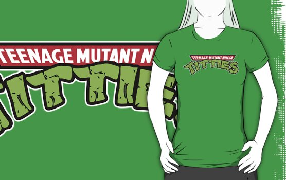 Teenage Mutant Ninja Titties by gorillamask