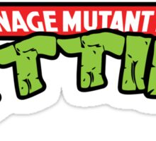 Teenage Mutant Ninja Titties Sticker