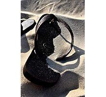Sand between my Havanas Photographic Print