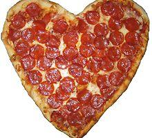 Pizza heart by Devon Rushton