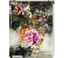Dark Floral iPad Case/Skin