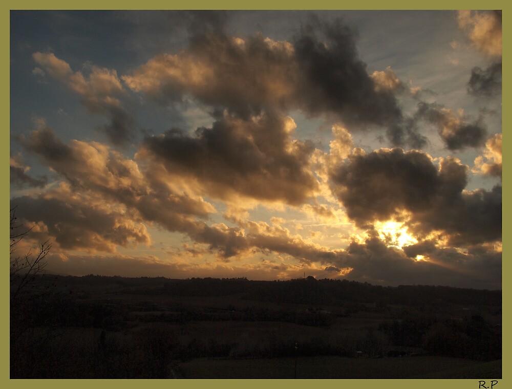 Sunset in Chianti. by richi90