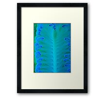 THE WRITINGS OF THE SEA Framed Print