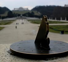 Time passing by at Schonbrunn Palace by rsangsterkelly