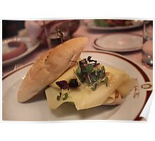 lunch at the Sacher Cafe Poster