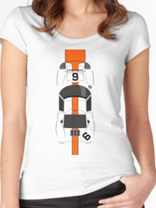 The view from above Women's Fitted Scoop T-Shirt