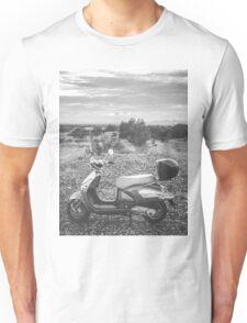 Vehicles: Scooter Desert Sky Unisex T-Shirt
