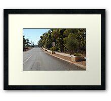 Frankland River Main Street Framed Print