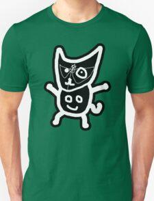 black ZEFCAT Unisex T-Shirt