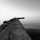 A quite sea by Antonello Mariani