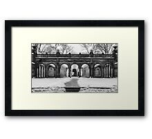 Bethesda Terrace, Night 2 Framed Print