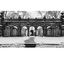 Bethesda Terrace, Night 2 Photographic Print