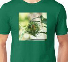 Sweet Golden Weaver Bird in Nest Unisex T-Shirt
