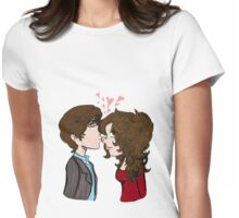 Penelope and Johnny Womens Fitted T-Shirt