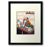 Welcome to the Mystery Shack! Framed Print