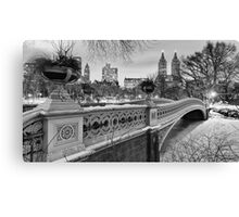 Bow Bridge Night Canvas Print