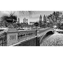Bow Bridge Night Photographic Print