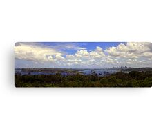 North Head Manly - The view Canvas Print