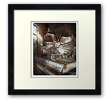 Thank you lord Framed Print