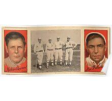 Benjamin K Edwards Collection Mordecai Brown Geo F Graham Chicago Cubs baseball card portrait Poster