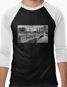 Bow Bridge Night Men's Baseball ¾ T-Shirt