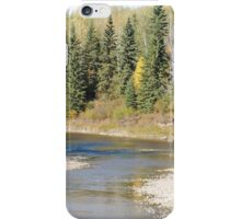 Fall Colours along the Little Smoky River iPhone Case/Skin