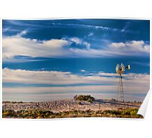 Catch the Wind - Mungo NP, NSW Poster