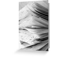 Are the pages blank ? Greeting Card