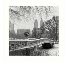 Bow Bridge Daytime Art Print